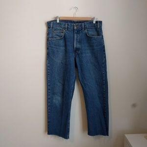 Vintage Gap Raw Hem, High Waist Mom Jeans
